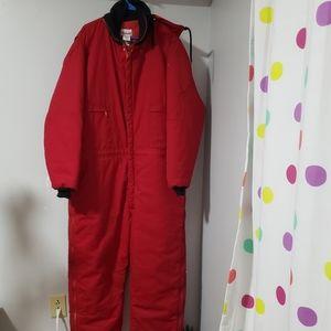 Men's WEARGUARD Red Jump Suit Size XXL